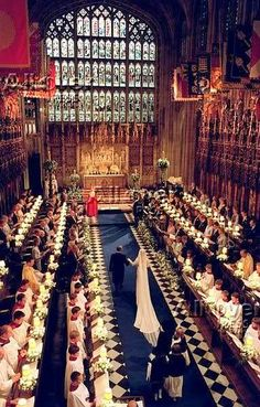 Miss Sophie Rhys-Jones and HRH Prince Edward's wedding at St. George's Chapel, Windsor on June 19th, 1999.