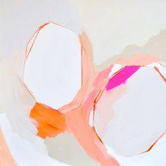 Warm Geos by Britt Turner on Artfully Walls