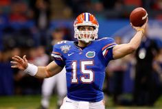 Tim Tebow... Florida Gators  2006-2010. One of the greatest college football players I've ever watched play the game! He's an even better human being! A TRUE role model!