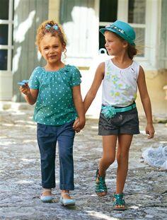 Votre recherche : calcoes com bordado Short Fille, Turquoise, Vintage, Crochet, Style, Fashion, Kids Fashion, Little Girls, Tall Clothing