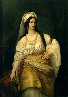 Esther -  Hebrew queen and heroine. Prevented a genocide, then turned around and slaughtered the would-be killers.