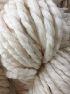 Hand spun merino silk JUMBO yarn 500g approx 75 yards
