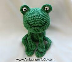 Amigurumi Frog free pattern ~ Amigurumi To Go