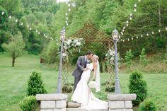 Hydrangea and Wildflower Wedding Arch