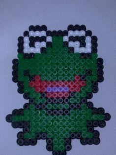 Kermit hama beads by p_7
