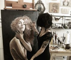 Wish I could paint like this......