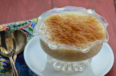 Old Fashioned Tapioca Pudding
