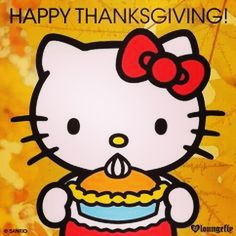 thanksgiving images | Happy Thanksgiving Hello Kitty Pictures, Photos, and Images for ...