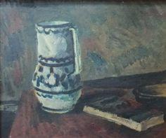 Alceu Ribeiro, Jarrón, óleo 38x44 Painting, Art, Vases, Art Background, Painting Art, Kunst, Paintings, Performing Arts, Painted Canvas