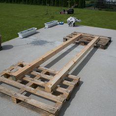 Huśtawka Ogrodowa (Nie Tylko dla Dziecka) - DIY - — HOUSE LOVES Garden Swing Seat, Backyard Swings, Fire Pit Patio, Wood, Panel Walls, Crafts, Outdoor, 40th Birthday, House