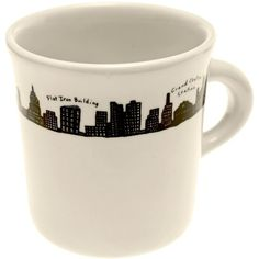 212 Mug (15 CAD) ❤ liked on Polyvore featuring home, kitchen & dining, drinkware and black and white mugs