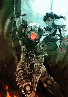 Big Sister Bioshock Art