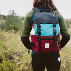 Not too big, not too small, not too fancy, not too simple, the Topo Designs Rover Pack is the Goldil Camping Outfits, Hiking Gear, Hiking Shoes, Hiking Sandals, Adventure Time, Adventure Couple, Trekking Outfit, North Face Backpack, Purses