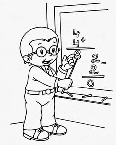 Coloring Pages For Girls, Colouring Pages, Coloring For Kids, Coloring Sheets, Class Decoration, Community Helpers, Craft Work, Learn To Draw, Doodle Art