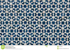 Moroccan tile design for graphics class.