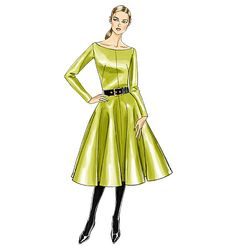 V8615, Misses' Dress