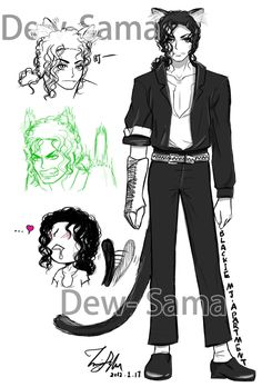 Blackie Character Setting by Dew-Sama on DeviantArt