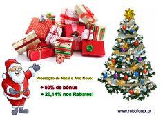 Presentes de Natal e Ano Novo da RoboForex Nas vésperas do Natal e Ano Novo a Companhia RoboForex lança uma promoção inédita para seus clientes! Veja o que você recebe durante todo mês de dezembro: http://www.roboforex.pt/operations/new-year-bonus/