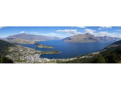 Panoramic View from Bob's peak, Queenstown