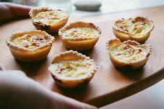 Spring Onion and Parmesan Mini Quiche