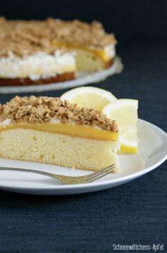 Schneewittchens Apfel: Zitronenkuchen (ich backs mir) #ichbacksmir