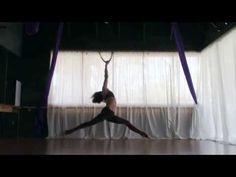 Aerial Hoop Spins - YouTube