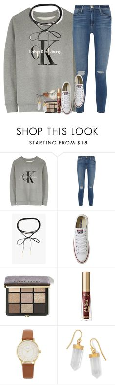"""""""it's snowinggg"""" by ellaswiftie13 on Polyvore featuring Calvin Klein, Frame, Azalea, Converse, Bobbi Brown Cosmetics, Too Faced Cosmetics, Kate Spade, BillyTheTree and MAKE UP FOR EVER"""