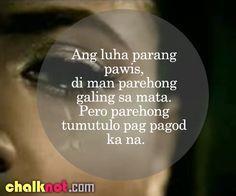 tagalog quotes – luha