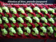 MÁS DISEÑOS JACQUARD CROCHET- (ideal for winter jackets and sweaters, and more)