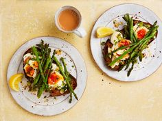Yotam Ottolenghi's 15-minute lunches – recipes | Food | The Guardian Veggie Recipes, Lunch Recipes, Summer Recipes, Breakfast Recipes, Ottolenghi Recipes, Yotam Ottolenghi, Tenderstem Broccoli, 15 Minute Meals, Everyday Food