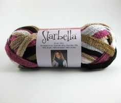 This color has been discontinued by the manufacture.  Get it before it's gone! Starbella Ruffle Scarf Yarn by Premier: Magic Potion by PurpleOkapiStudio, $6.75