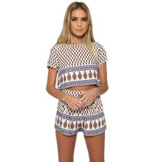 Style 2 Piece Set Women Shorts and Top arrival elegant woman and elegant printed suit basic two-piece sweet wear