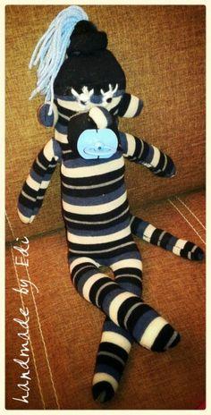 Sock monkey Tigger, Sock, Monkey, Disney Characters, Fictional Characters, Art, Monkeys, Socks, Kunst