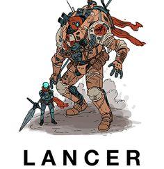 Prueba Lancer, un Nuevo Juego de Rol con Mechs - La Cueva del Lobo