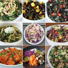 25 salads,  I need to eat more salad but always get board with it.  This seems a good resource