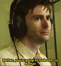 David Tennant talking to an 11 year old fan, Nathan, on Absolute Radio