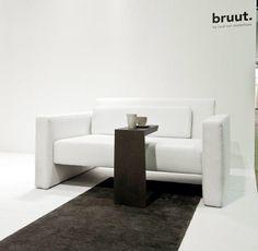 sofa delaneau and slide #woonbeurs amsterdam 2011 #bruut #vescom #interieur #wonen #interiordesign #architecture #seat #sofa  www.facebook.com/bruutdesign