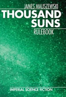 """Thousand Suns is a roleplaying game that takes its inspiration from the classic literary ""imperial"" science fiction of the '50s, '60s, and '70s written by authors like Poul Anderson, Isaac Asimov, Alfred Bester, Gordon Dickson, Larry Niven, H. Beam Piper, Jerry Pournelle, and A.E. van Vogt, among others."