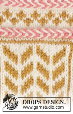 Ravelry: Hokey Pokey Mittens pattern by DROPS design Knitting Patterns Free, Free Knitting, Free Pattern, Drops Design, Magazine Drops, Mittens Pattern, Knitted Hats, Diy And Crafts, Blanket