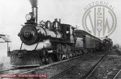 N 29 Left 3/4 Train View at Norfolk, VA 1898