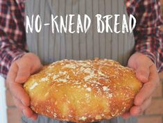 No Knead Bread, Cornbread, Ethnic Recipes, Blog, Breads, Birthday, Millet Bread, Bread Rolls, Birthdays