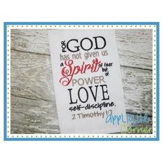 Spirit of Love Embroidery Design
