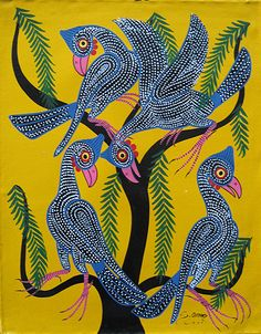 Omary - Tinga Tinga art of Tanzania