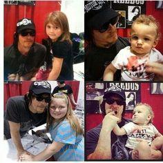 Norman and Fan kids