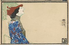 Fashion (Mode) | Maria Likarz | c. 1907/8-14 | WW.559