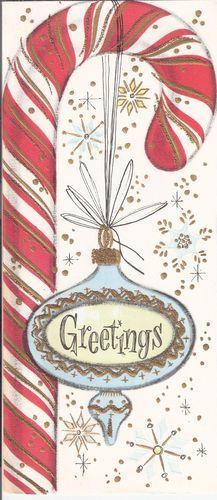 Najpiękniejsze kartki świąteczne vintage, fot. Pinterest