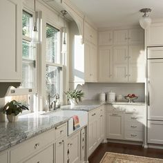 white and gray counters