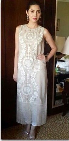 Pakistani actor Mahira Khan in Umaima Mustafa.