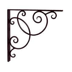 Achla Designs Scroll Iron Book Shelf Bracket <br>(Set-2) - B21
