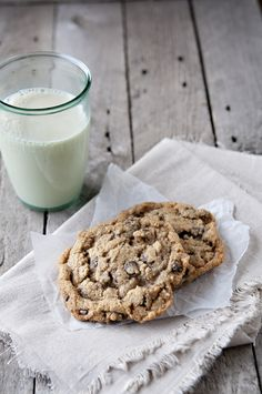 Chocolate Chip Cookies--the gooy kind. Chewy ooy gooy goodness is the only way to go.